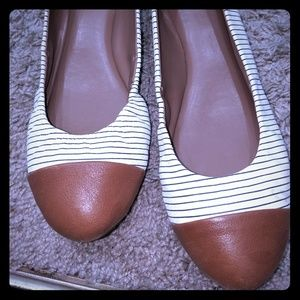 ED stripe shoes